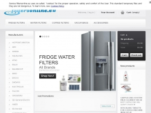 Water filter samsung da29 - 00003g for your fridge